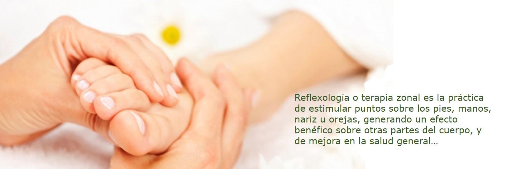 terapia de reflexologia