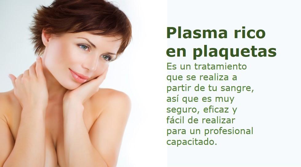 terapia plasma rico en plaquetas